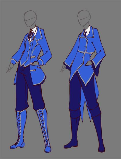 79 best Anime Clothing for Male images on Pinterest | Manga drawing Character design and ...