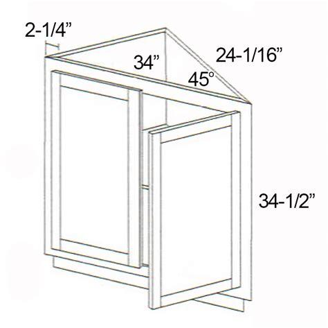 triangle cabinet parkview cabinets 24 quot w x 34 1 2 quot h x 24 quot d rta base