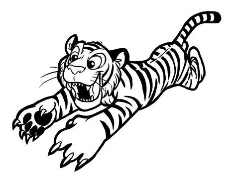 Coloring Harimau by 10 Mewarnai Gambar Harimau Bonikids Coloring Page