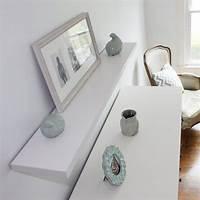 white floating shelf Top 20+ White Floating Shelves for Home Interiors