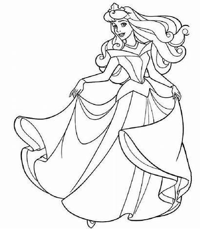 Sleeping Beauty Coloring Disney Pages Princess Sheet