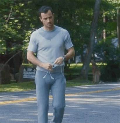 Justin Theroux Bulge Pants Scene Sweatpants Leftovers