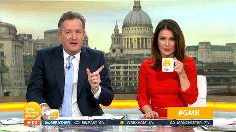 Piers Morgan Slams Charlotte Hawkins Live On Air And Says