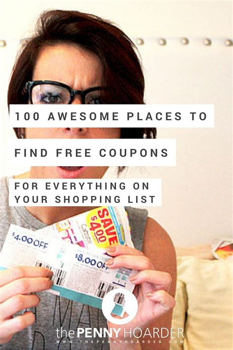 The 100 Best Places To Get Free Digital And Printable Coupons