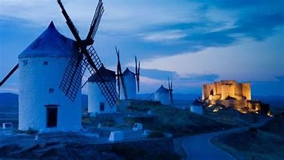 Consuegra Mancha Bing Spain Windmills Castilla Toledo