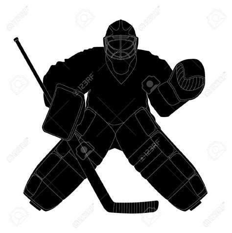 Cat Pop Art Download Free Vector Art Stock Hockey Goalie Clipart Black And White Clipground