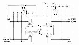 U0026gt  Power Supplies  U0026gt  Iso122p 124 Power Supply Has A Three Port Isolation Amplifier Circuit Diagram