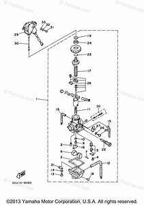 Yamaha Atv 2000 Oem Parts Diagram For Carburetor