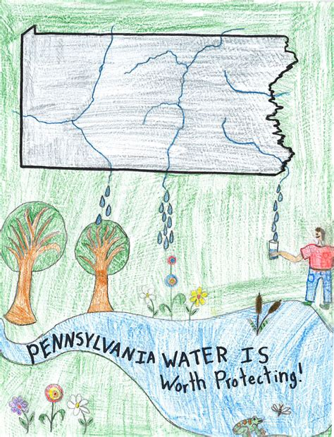 Pa American Water Pa American Water S Quot Protect Our Watershed Quot Art Contest