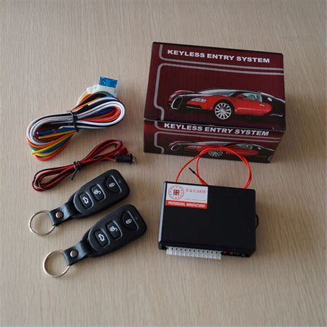 Universal Car Remote Control Central Kit Door Lock Locking