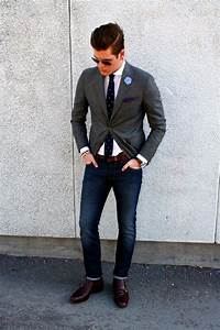 Jacket jeans and tie.   Getup   Pinterest