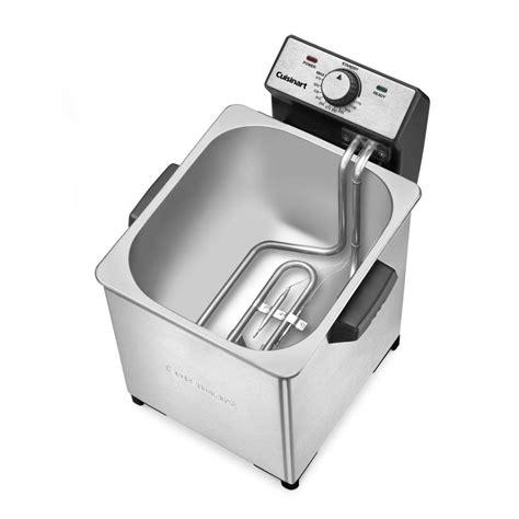 deep fryer quart cuisinart appliances specialty