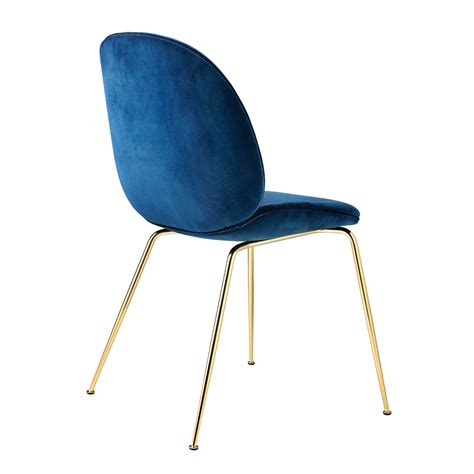 chaise velours beetle chair gamfratesi gubi suite ny