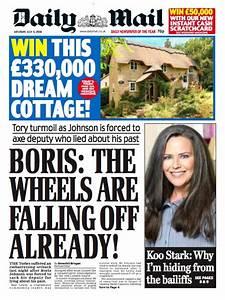 Today's newspapers - Boris Watch