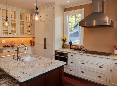 arctic granite cabinets kitchen with