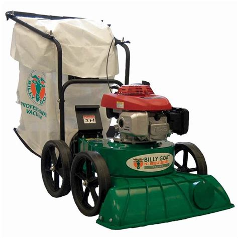 billy goat vaccum billy goat kv650h lawn and litter vacuum 187 cc honda