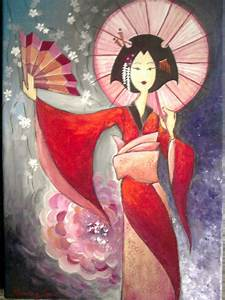 "RamyArt ♥: ""Geisha and japanese traditional art"""