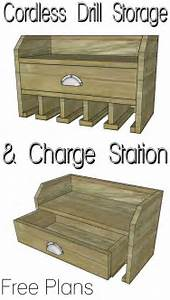 Cordless Drill Storage - Charging Station - Her Tool Belt