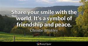 Share your smil... Life Love Peace Quotes