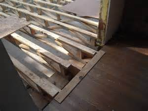 sunroom part 3 floor trusses or how to replace a floor joist adventures in remodeling