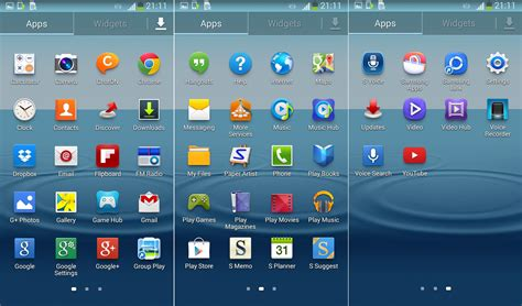 new android apps samsung galaxy s3 android 4 3 new features list and review