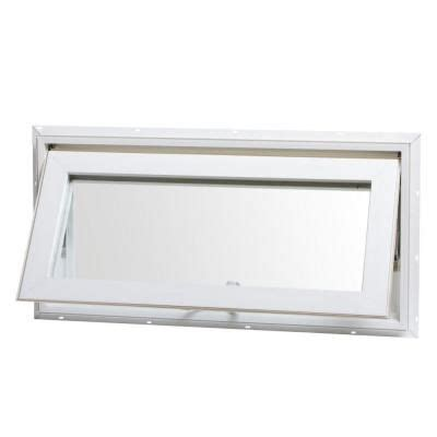 tafco windows      awning vinyl window  screen white va   transom