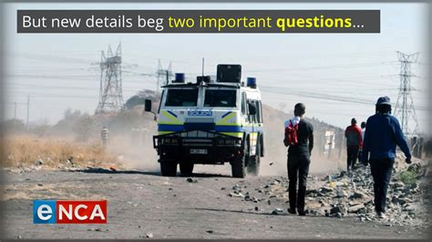 The journalist lindsay dentlinger working with enca asked hon nqabayomzi kwankwa to wear his according to capetalk on thursday said, that the political reporter lindsay dentlinger was. eNCAnews - Remembering Marikana | Facebook