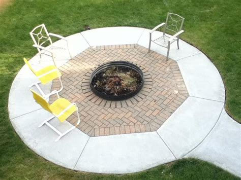 From architecturally elegant fire bowls that allow for a spontaneous large gatherings to the more designed sculptural halo series, these fire pits will not fail to impress. Poured Concrete Fire Pit | Outdoor fire pit, Concrete fire pits, Outdoor fire