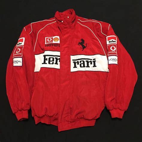 3.7 out of 5 stars 30. Vintage Ferrari 1996 Official Licensed Formula One F1 Racing Jacket Mens XXL | eBay | Vintage ...