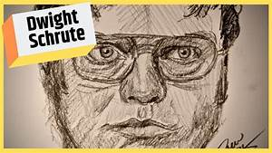 How To Draw Dwight Schrute  The Office
