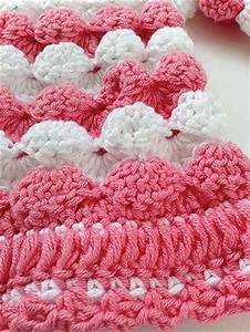 Crochet Sell Stitch Tutorial And Patterns