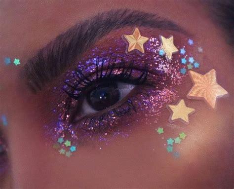stylegps euphoria makeup    edgy makeup rhinestone makeup glitter makeup