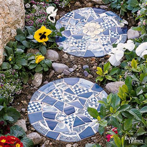 26 creative diy projects made with broken tile diy