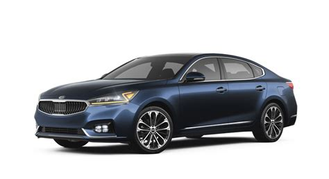 The New 2018 Kia Cadenza Exterior Color Options