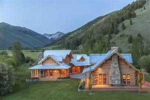 Glenn Beck Ranch Idaho Myideasbedroom Ranch House Designs For Beautiful Countryside