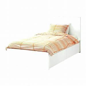 Cadre De Lit Avec Rangement : cadre de lit double cadre de lit double en mactal avec ~ Voncanada.com Idées de Décoration