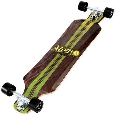 atom 39 bamboo drop deck longboard mountainboards and longboards mbs mountainboards europe