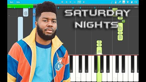 Saturday Nights Piano Tutorial Easy (suncity
