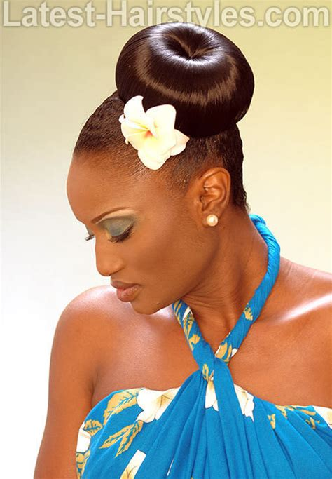 HD wallpapers ponytail hairstyles for black hair