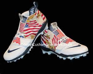 Custom Nike Huarache Lacrosse Cleats