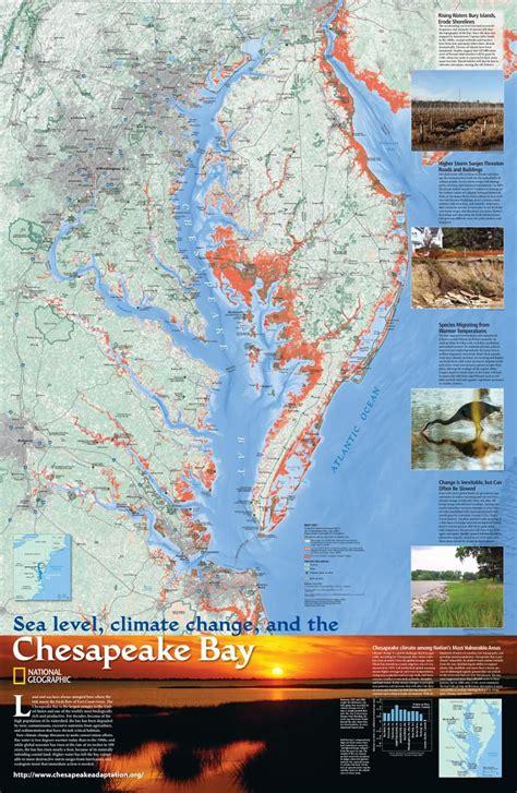 sea level climate change   chesapeake bay