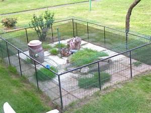 Construire Enclos Pour Chats : construire enclos chien chenil pour chien des amaries ~ Melissatoandfro.com Idées de Décoration