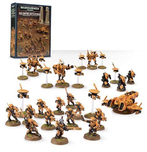 battleforce tau empire games workshop betlfors imperiya tau