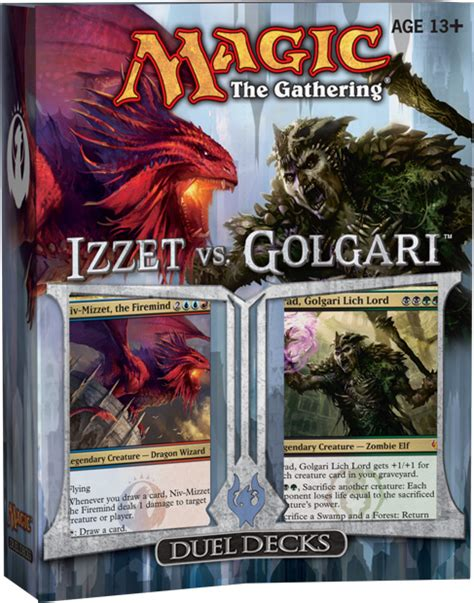 Izzet Vs Golgari Visual Spoiler