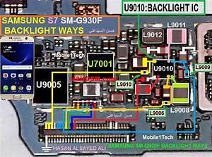 Samsung Galaxy S7 G930f Display Light Solution
