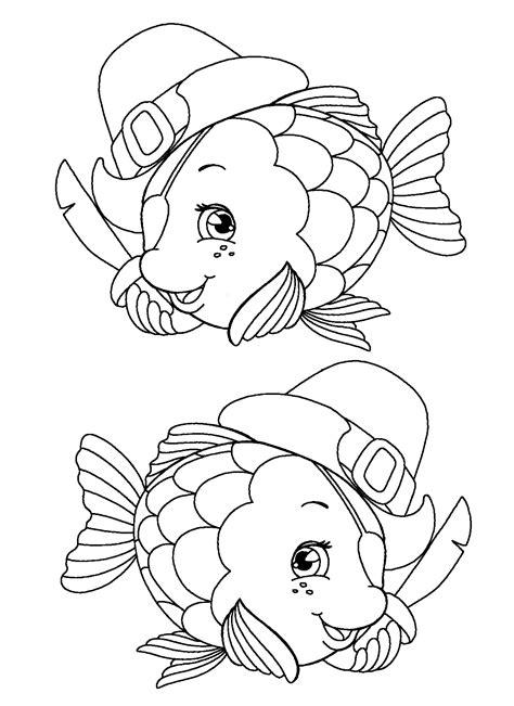 pesci da colorare per bambini scuola infanzia un cartellone dei pesci pirata per l estate le news di