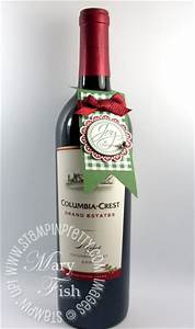 NEW Video Holiday Wine Bottle Tag Ideas