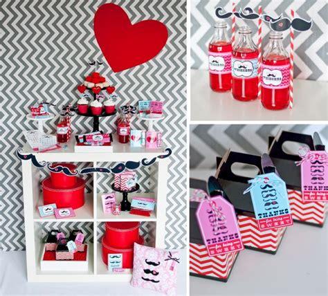 Kara's Party Ideas Mr Miss Boy Girl Mustache Valentine's