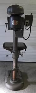 Rockwell 17 U0026quot  Drill Press 3  4 Hp 1  2 U0026quot  Chuck 220v 3 Phase