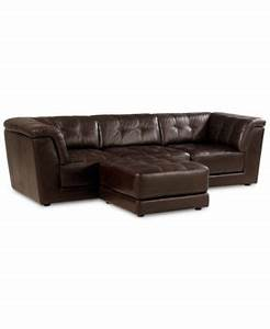 stacey leather 5 piece modular sectional sofa 2 armless With stacey leather sectional sofa 5 piece modular pit